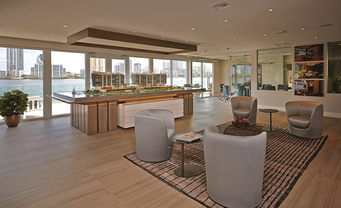 prive at island estates sales center