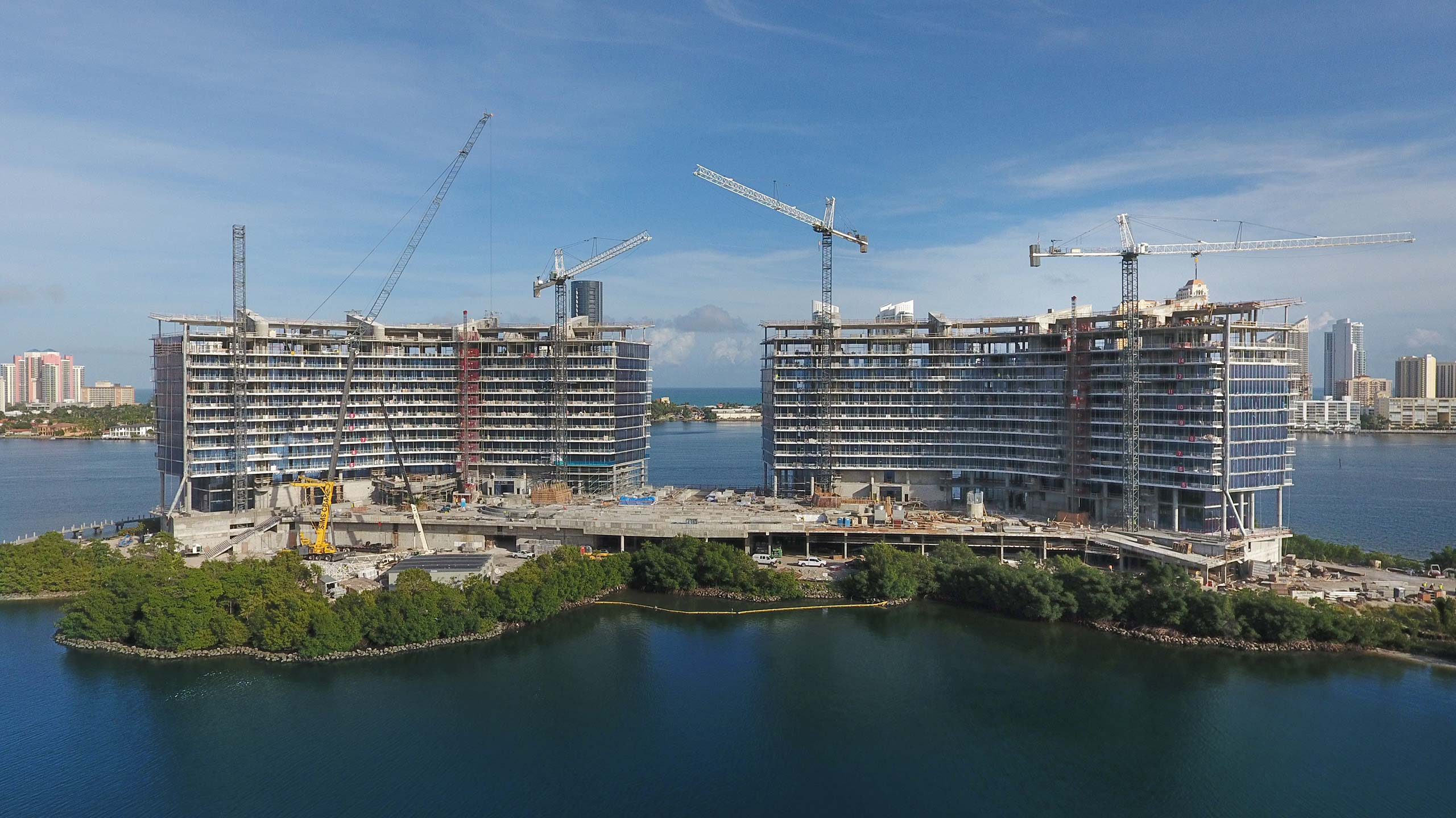 prive at island estates topped off