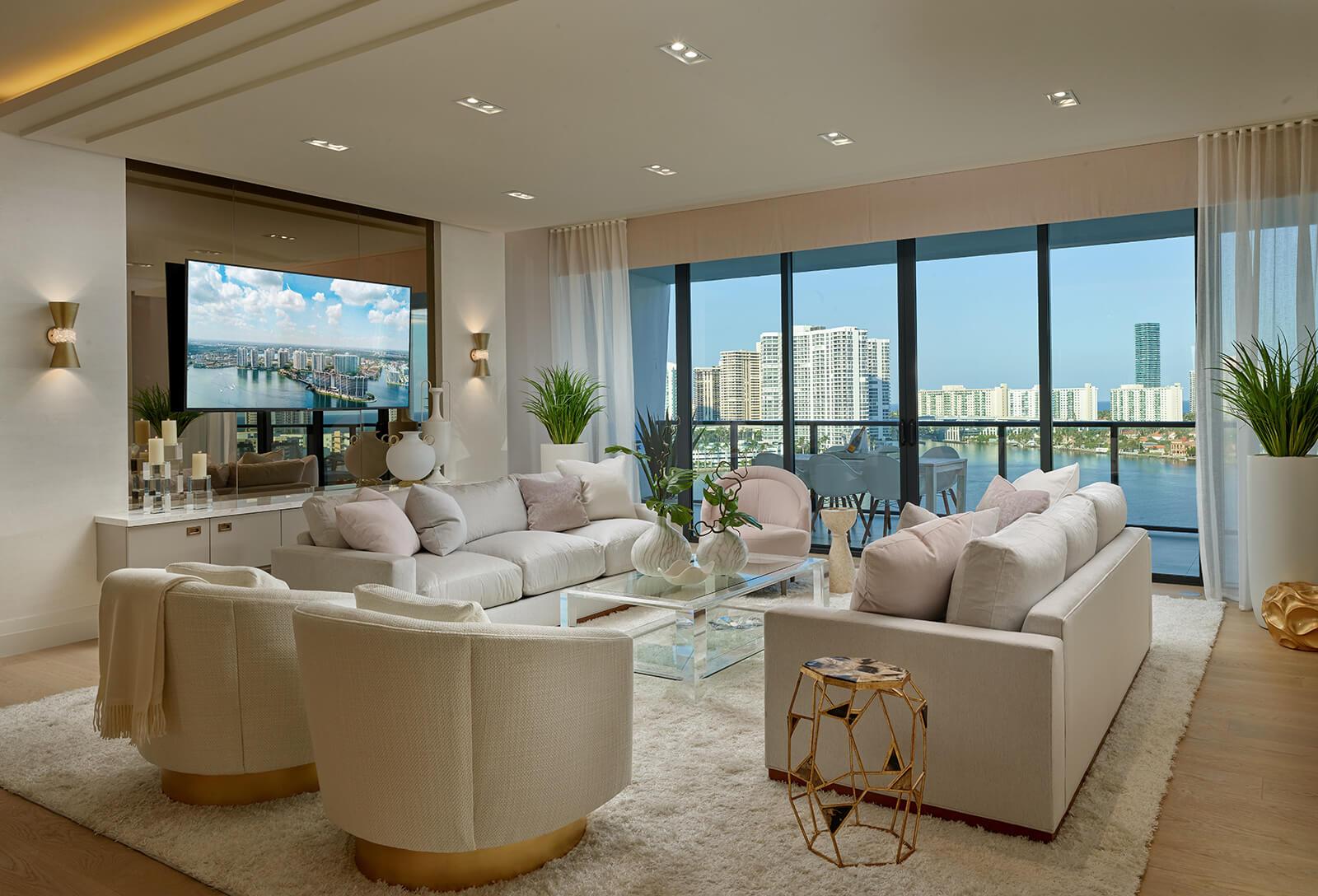 Aventura real estate residences at Prive