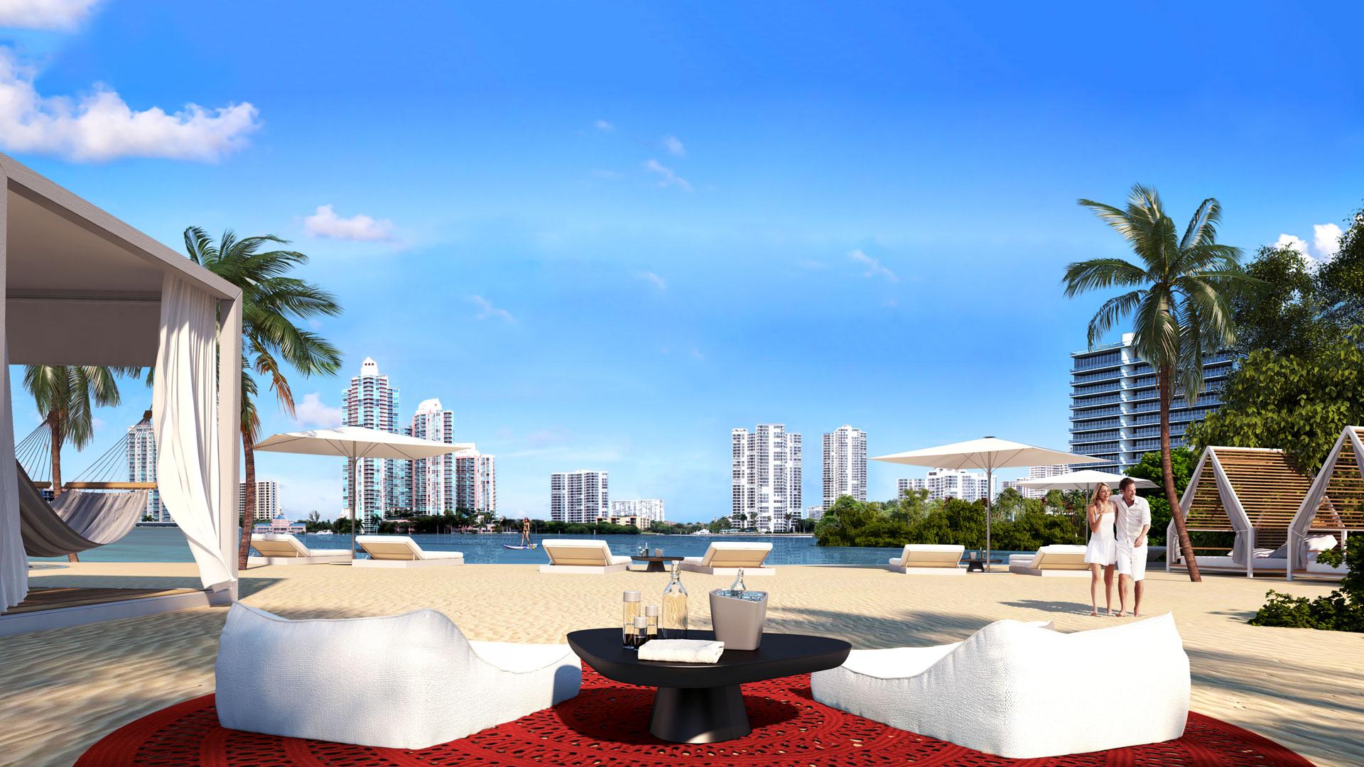 private island beach club at prive island